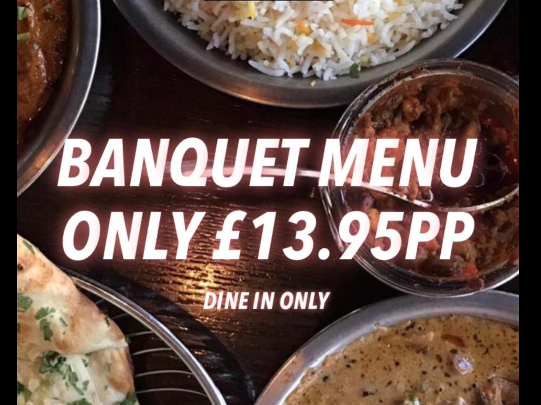 Banquet Menu Returns