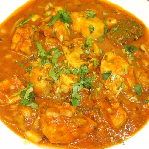 Achari Chicken or Lamb